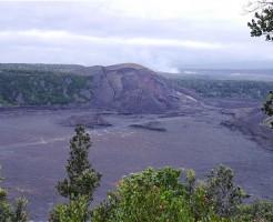 キラウエア火山 溶岩の湖