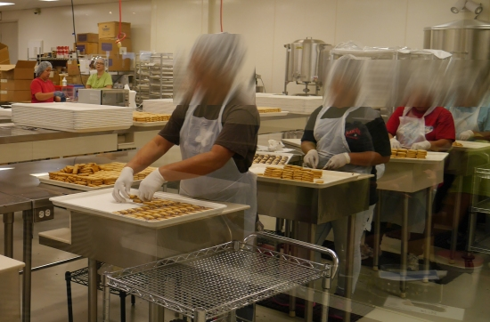 ビングアイランドキャンディーズの工場見学