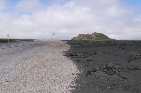 ハワイ島200号線溶岩・星空観賞スポット