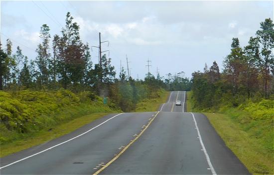 ハワイ国道200号線
