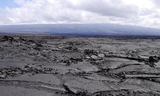 ハワイ島溶岩