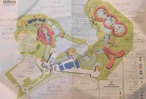ヒルトンワイコロワヴィレッジの地図