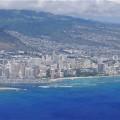 ワイキキビーチ ハワイアン航空