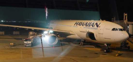 ハワイアン航空関空