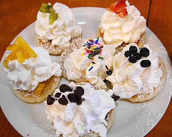 ディナー限定パンケーキ