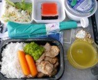 ハワイアン航空機内食 帰国時