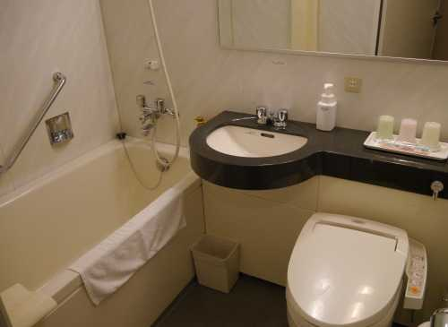 ホテルマイステイズ京都 風呂