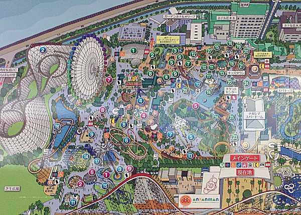 長島スパーランド 地図