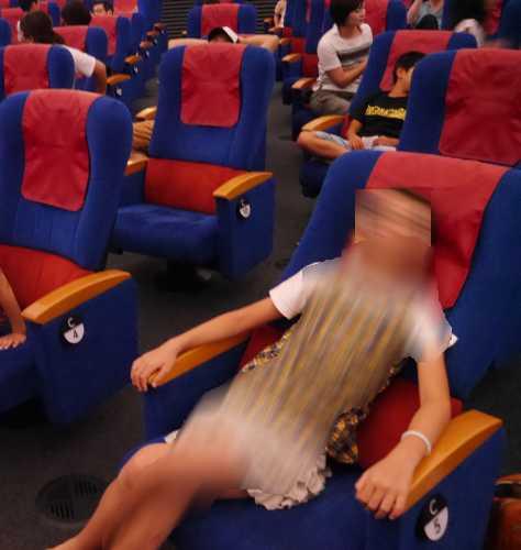 名古屋科学館プラネタリウム座席