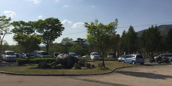 蒜山高原 道の駅駐車場
