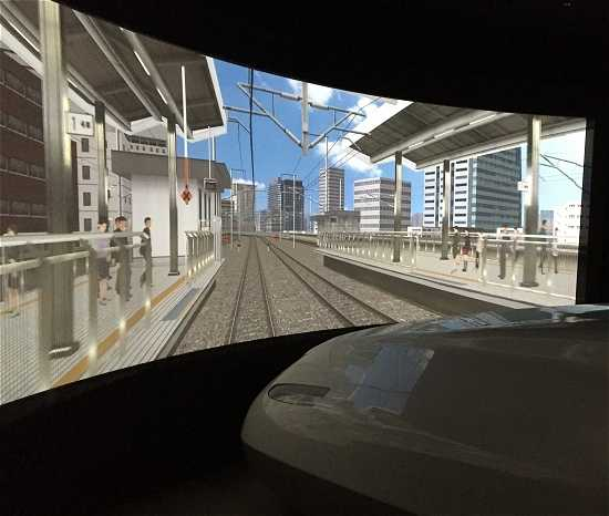 新幹線運転体験