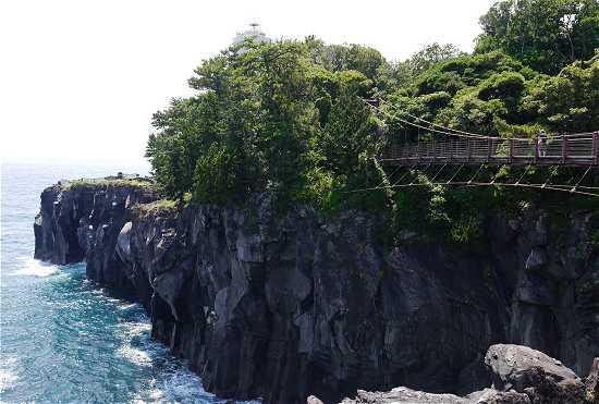 城ケ崎 吊り橋 絶景