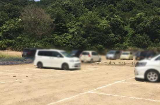 宝伝海水浴場 駐車場