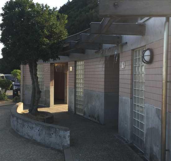 宝伝海水浴場 トイレ
