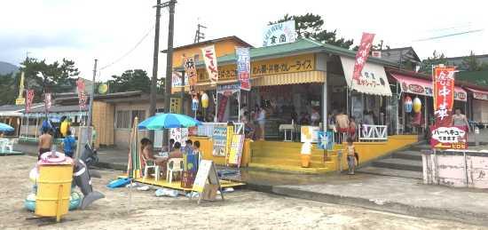 若狭和田海水浴場 海の家