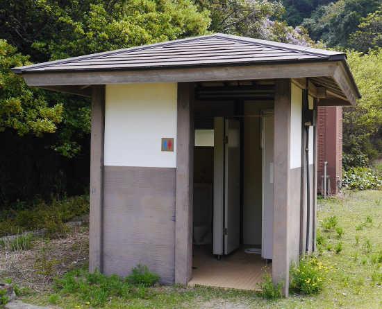 友が島 トイレ