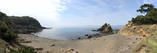 友が島 砂浜