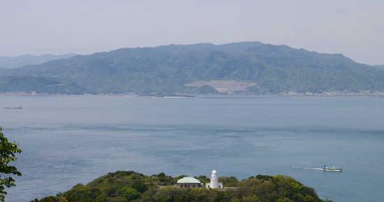 友が島展望台の景色