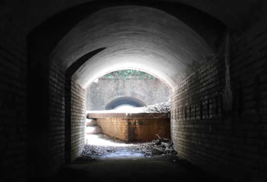 砲台跡 トンネル
